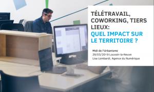 Lisa Lombardi - Experte à l'Agence du Numérique - Digital Wallonia, Coordinatrice du réseau CoWallonia